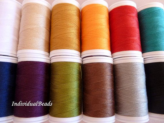 Drima threads basic kit 12 different colour by IndividualBeads, $18.00