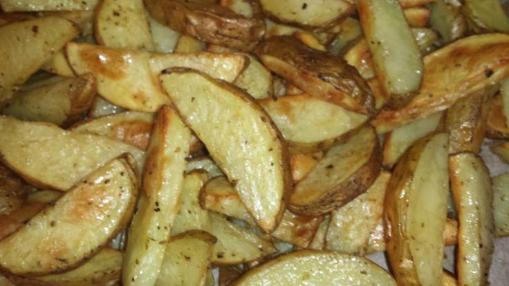 Πατάτες Wedges φούρνου - Powered by @cookCap