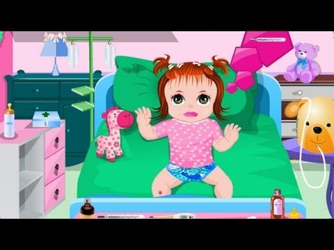 ▶ Baby Sick Day Game - Cure Little Baby Lucy gameplay for kids - YouTube