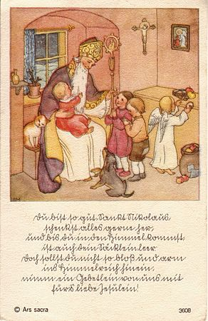 Christmas ~ Holland, Netherlands ~ holy card