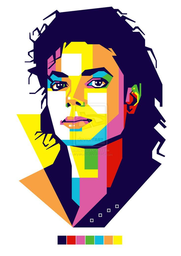 Art with Soul - Colors - The King of Pop, Rock and Soul! wpap