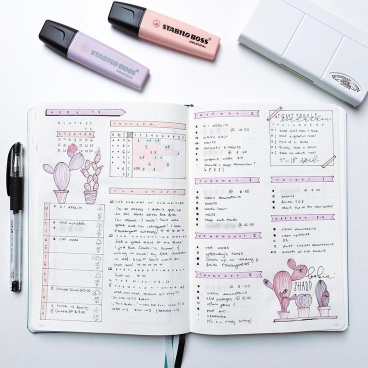 """1,886 mentions J'aime, 28 commentaires - Roz • Bullet Journal (@rozmakesplans) sur Instagram: """"It's so nice to actually have a theme after the chaos that March was. #bulletjournal…"""""""
