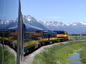 Alaska Railroad, Anchorage to Fairbanks ~ September 27 & 28, 2008  (Alaska Railroad Travel)