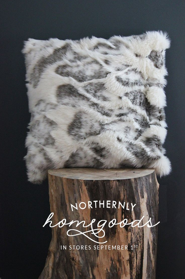 Luxe White Fur Pillow - Fur Pillow, Faux Fur Pillow by Northernly on Etsy