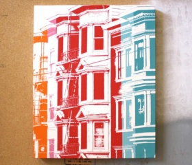 San Fran Color Canvas