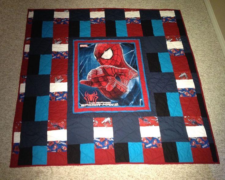 13 best Spider-Man blanket images on Pinterest | Spiderman, Boy ... : spiderman quilt - Adamdwight.com