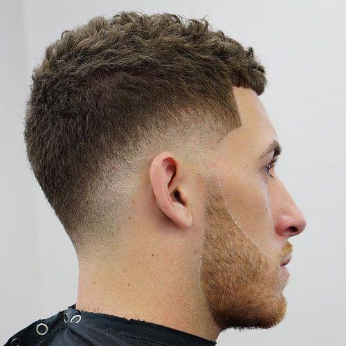 Mid Drop Fade + Beard + Short Crop Top