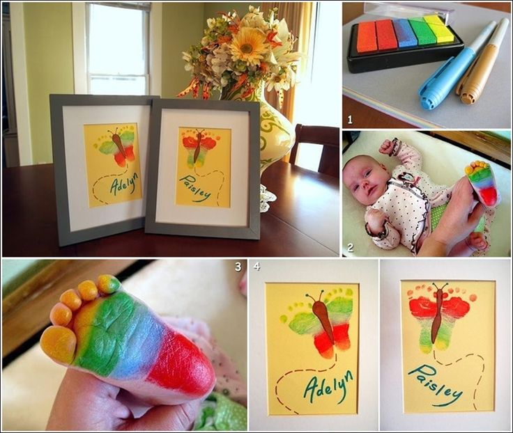 baby craft ideas for nursery baby footprint butterfly for you to try if you 5919