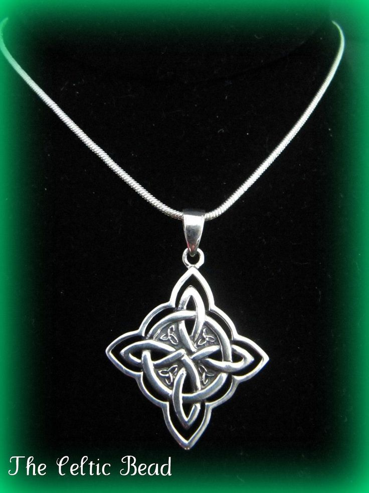 Beautiful Large Sterling Silver Celtic Irish Knot by TheCelticBead
