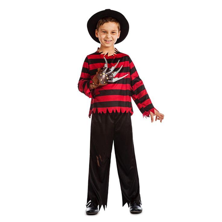 Disfraz de Freddy Krueger Niño #disfraces #carnaval #novedades2016