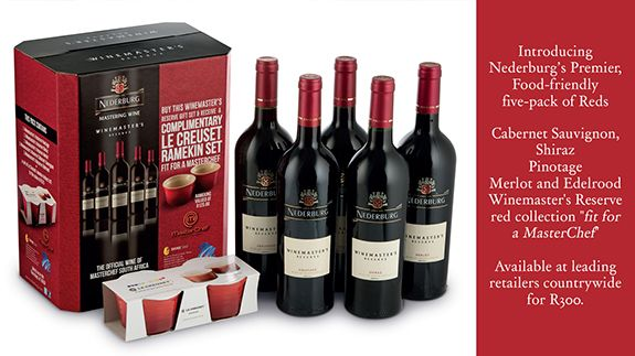 Nederburg's Premier, Food Friendly Five-Pack of Reds