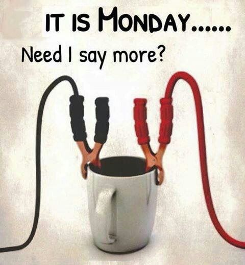 It's Monday and holiday....