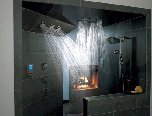 Partially open shower. 17 Best images about Basement Bath on Pinterest   Over the  Knee