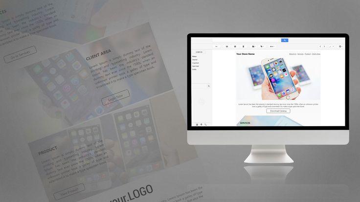 Newsletter Design for Phone Store