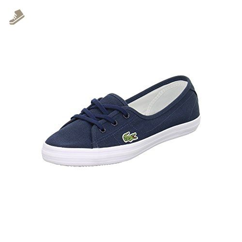 Lacoste - Ziane Chunky Lcr - 729SPW1054DB4 - Color: Blue - Size: 6.5 - Lacoste sneakers for women (*Amazon Partner-Link)