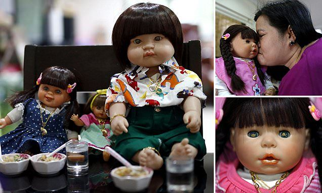 Thai airline to serve food and drinks to DOLLS on flights