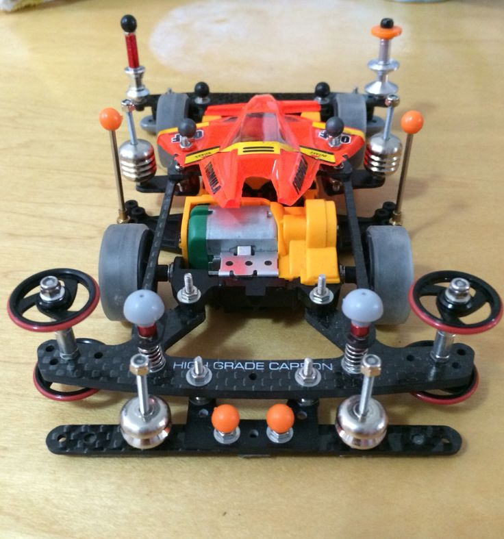 Tamiya mini 4wd winning bird orange black special