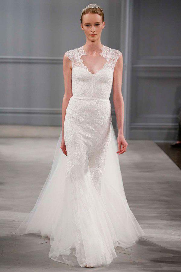 свадебные платья коллекция Monique Lhuillier 2013