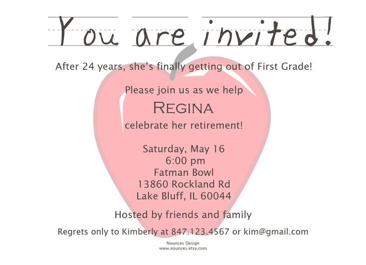 The 25+ best Retirement party invitation wording ideas on - farewell invitations templates