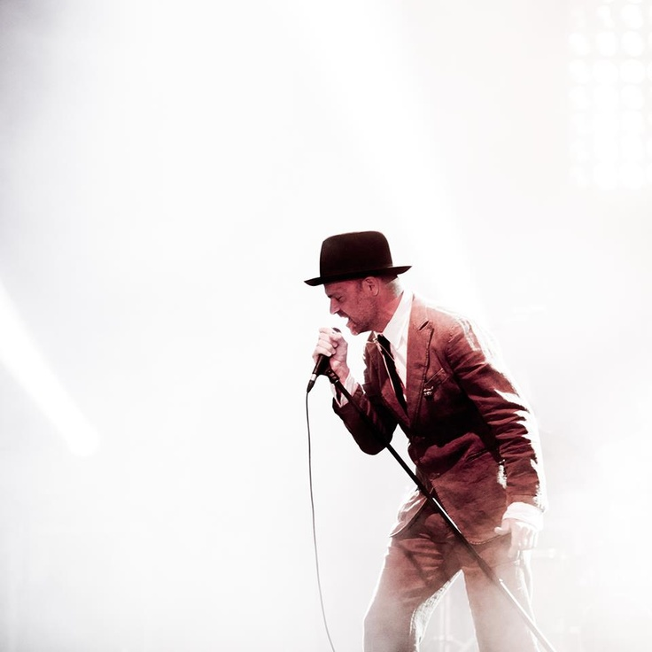 Gord Downie of The Tragically Hip: 2012