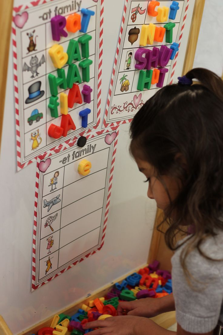 Magnetic Letters: Word Families