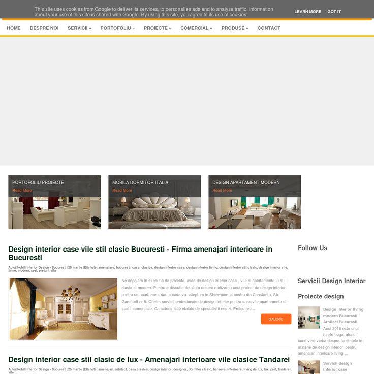 Design interior clasic - Design interior case moderne - Amenajari interioare