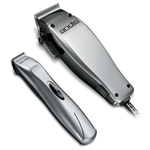 Andis 23-Piece Clipper and Trimmer Combo Pack (20140) BTB Cordless battery operated trimmer perfect for trimming beards and mustaches. MC2 Adjustable, magnetic motor clipper adjusts from fine to coarse at the touch of a lever. High quality stainless steel blades for long cutting life. Ergonomic designs fit any hand comfortably. 23 piece kit.  #Andis #Health_and_Beauty