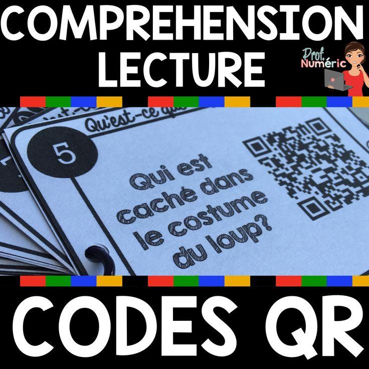 Compréhension de lecture avec codes QR