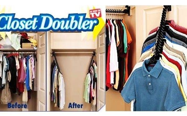 Κρεμάστρες Closet Doubler για να Διπλασιάσετε τον Χώρο στην Ντουλάπα Σας ΑΠΟ 14.10 €   ΤΩΡΑ 6.40 €
