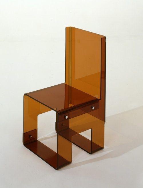 vjeranski: François Arnal, Acrylic Chair, 1969.