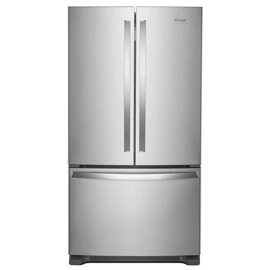 Lowest price on Whirlpool WRF535SWHZ 25.2 Cu. Ft. Fingerprint Resistant Stainless Steel French Door Refrigerator - Energy Star. Shop today!