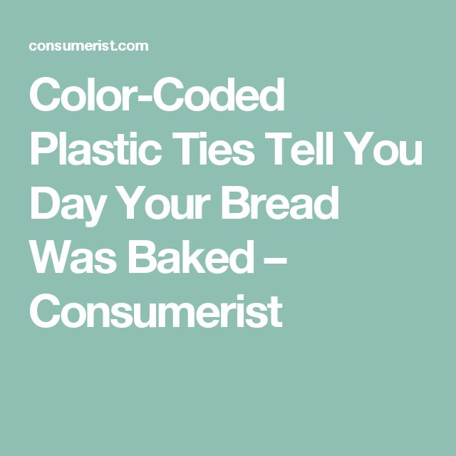 recipe what do the colors of the bread ties mean 19 - Bread Ties Color