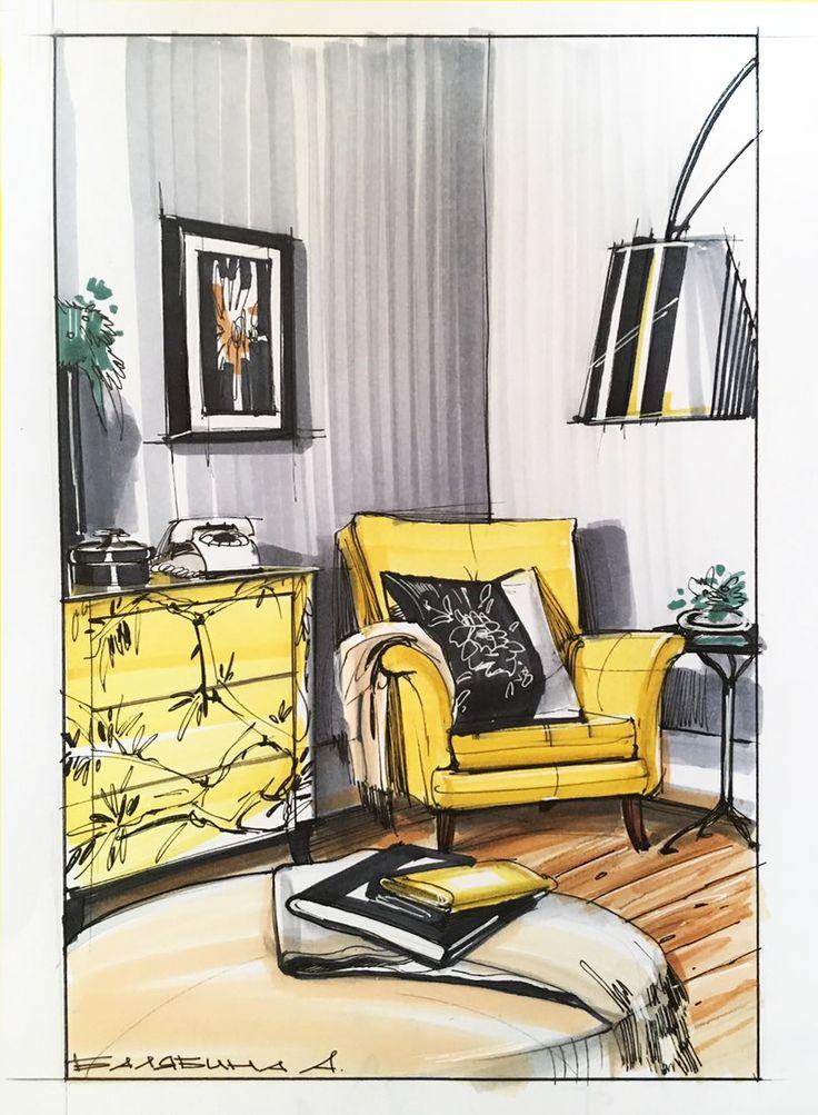 Ознакомьтесь с моим проектом @Behance: «Interior design» https://www.behance.net/gallery/52002473/Interior-design