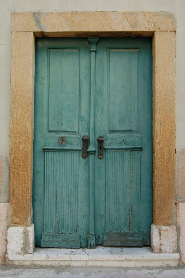 Our engagement door. Hungary/Békéscaba.