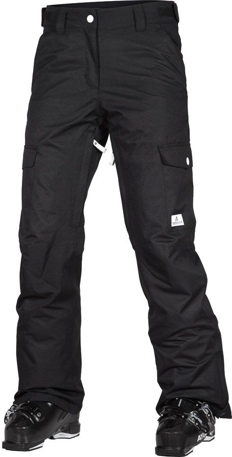 Wearcolour (CLWR) WTTR Women's Ski/Snowboard Pants, M Black