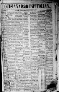 EAST BATON ROUGE PARISH, Louisiana - Baton Rouge - 1879-1881 -  Louisiana Capitolian. « Chronicling America « Library of Congress