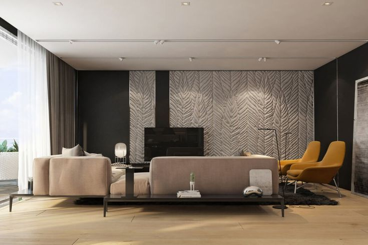 Frunze gigantice in relief pentru decorul peretelui. Originala idee! #decorpereti, #peretimodelfrunze
