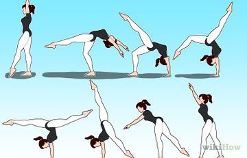 How to Do a Back Handspring at Home: 12 Steps