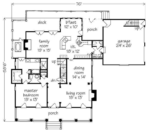 Exceptional Main Level Floor Plan