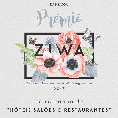 "@hotelstroganov We are honoured to share, that Stroganov Hotel is one of the winners of the ZIWA awards - @zankyou_portugal International Wedding Award 2017, in the category of ""Hotels, Venues and Restaurants"" ✨🎉 #zankyou #wedding #casamento #boda #ziwa2017 #portugal #eventvenue"