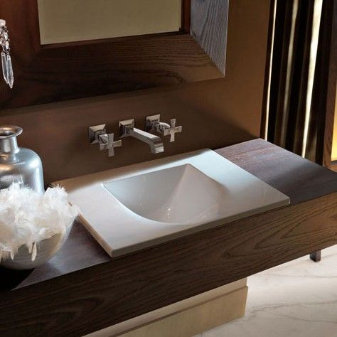 Bathroom Sinks Modern best 25+ drop in bathroom sinks ideas on pinterest | master bath