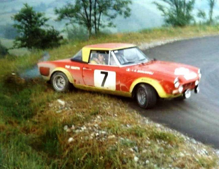 Fiat 124 Spider Rally, #drift #fiat #rallye
