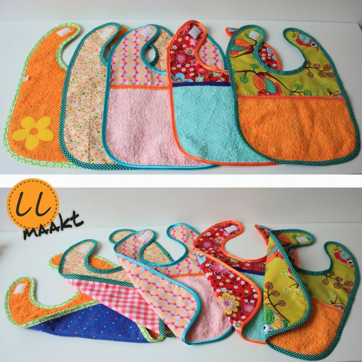 Baby slabjes naaien | sewing bib