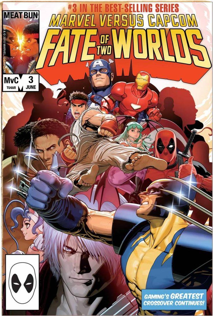 """gameandgraphics """" Marvel Vs. 3 original art by"""