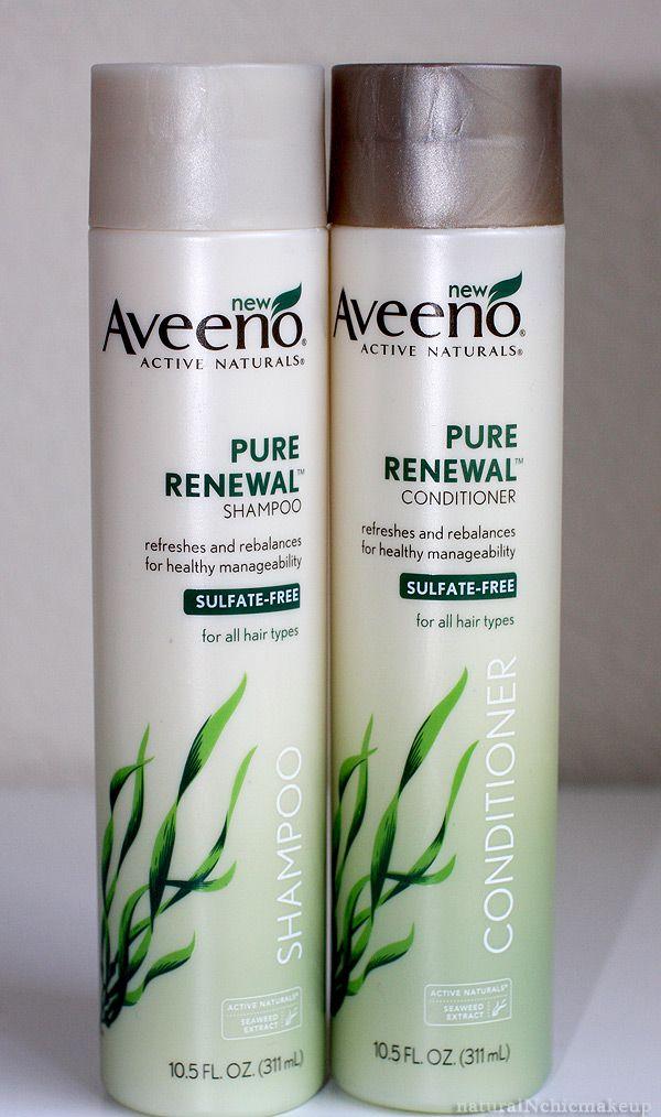 Aveeno, Natural Sulfate-free shampoo & conditioner
