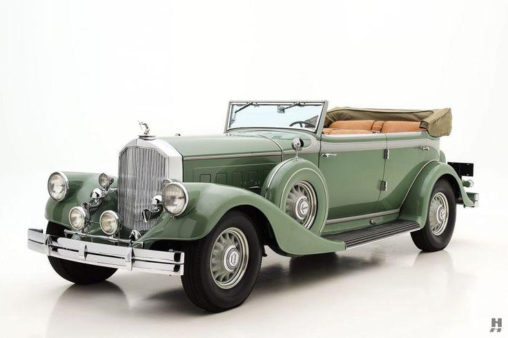 1933 Pierce Arrow Twelve LeBaron Convertible Sedan
