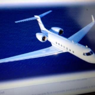 Gulf stream jet.  A dream!