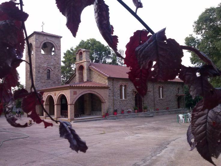 Σύναξη της Παναγίας της Λυκουρισιώτισσας στην Σκουτερά Αγρινίου. Synaxis of Panagia of Lykourissa, in Skoutera, Agrinio, Greece. Feast Day: August 31st.