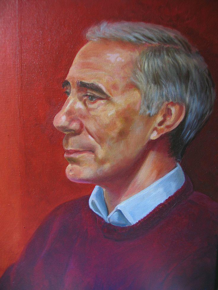Professor Rhys Williams Oil on Canvas Simon Goss December 2014