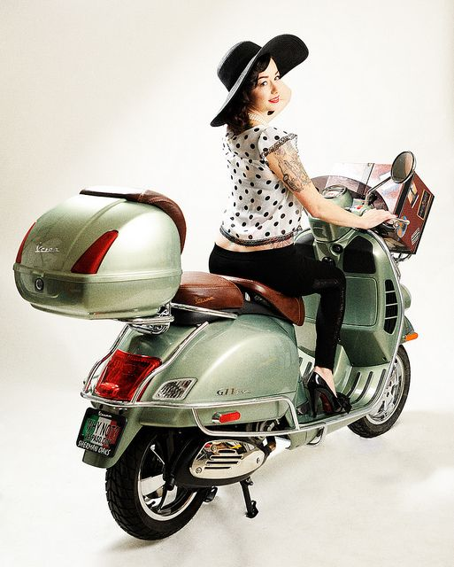 Ciao by Illusive Photography, Vespa 2009 GTV 250